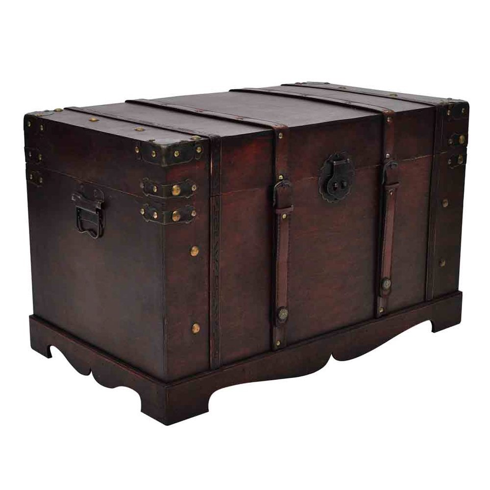notre avis sur le coffre de rangement vida xl un vrai coffre pirate. Black Bedroom Furniture Sets. Home Design Ideas
